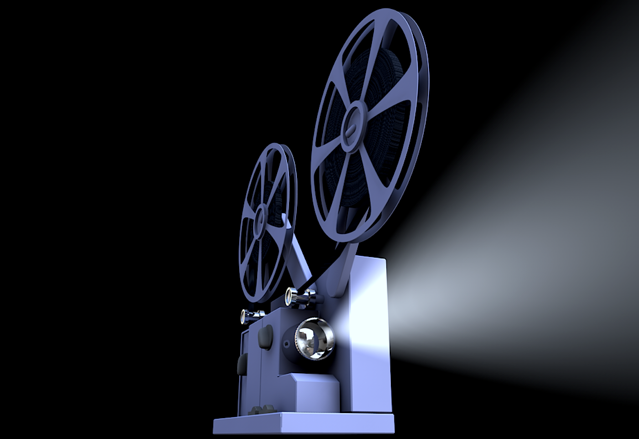 Cinema film projector